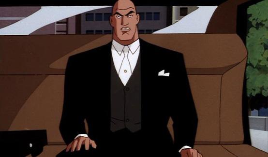 Люкс Лютор в мультсериале Супермен
