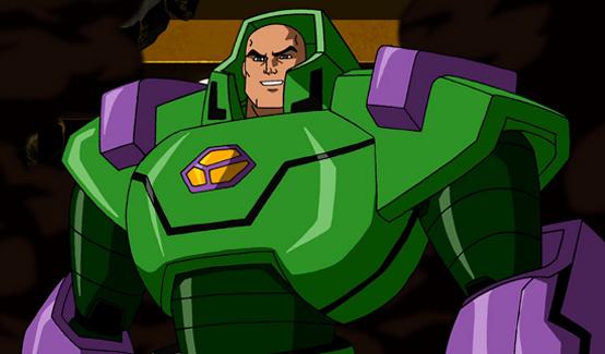 Лекс Лютор появляется в Супермен/Бэтмен: Враги общества