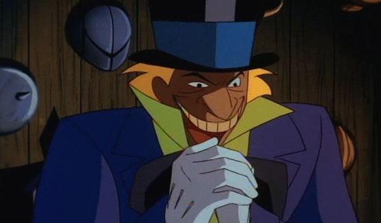 Безумный шляпник в мультсериале Бэтмен