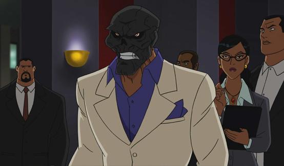 Чёрная Маска в мультсериале Бэтмен: Под колпаком