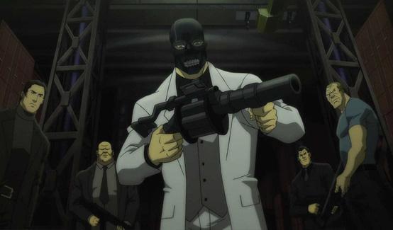 Чёрная Маска в мультсериале Бэтмен: Дурная кровь