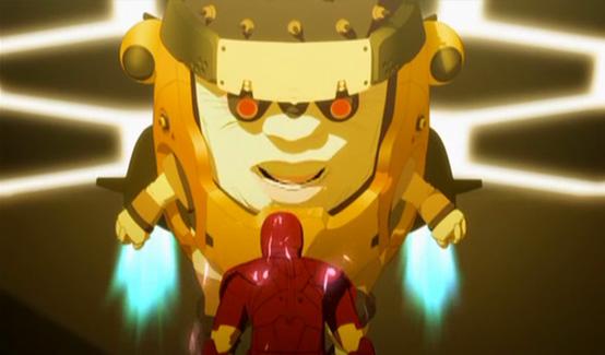 МОДОК в мультсериале Железный человек: Приключения в броне