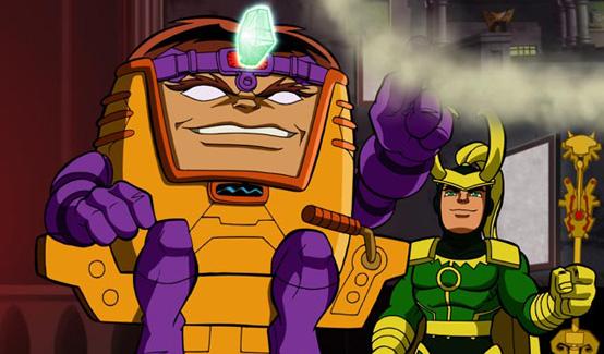 МОДОК в мультсериале Отряд супергероев