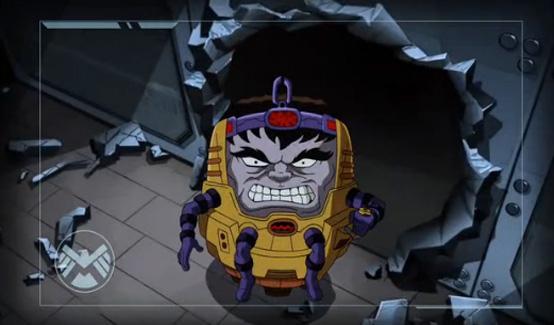 МОДОК в мультсериале Великий Человек-паук