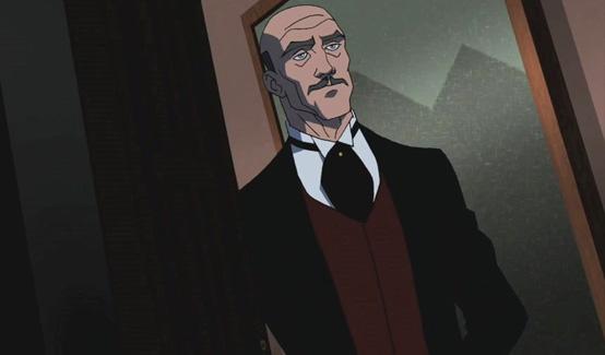 Альфред в мультсериале Юная Лига Справедливости