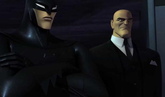 Альфред в мультсериале Берегитесь: Бэтмен