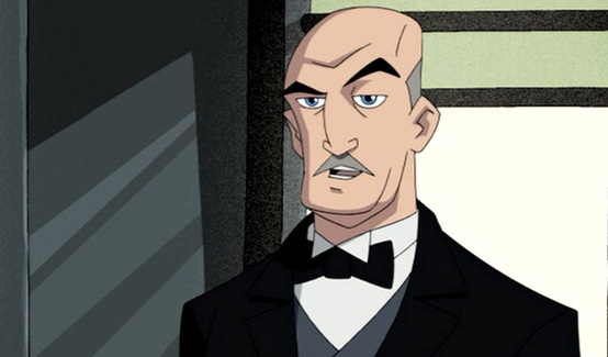 Альфред в мультсериале Бэтмен (2004)