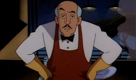Альфред в мультсериалах про Бэтмена