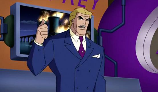 Великолепный Годфри в мультсериале Лига Справедливости
