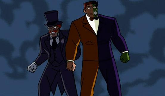 Двуликий появляется в мультсериале Бэтмен: Отвага и смелость