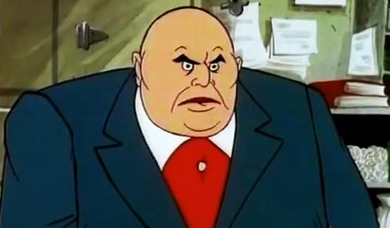 Кингпин появляется в мультсериале Женщина-паук