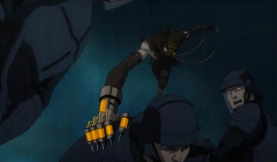 Пугало появляется в Бэтмен: Нападение на Аркхэм