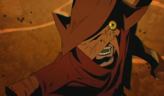 Пугало появляется в Бэтмен: Рыцарь Готэма
