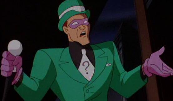 Загадочник в мультсериале Бэтмен