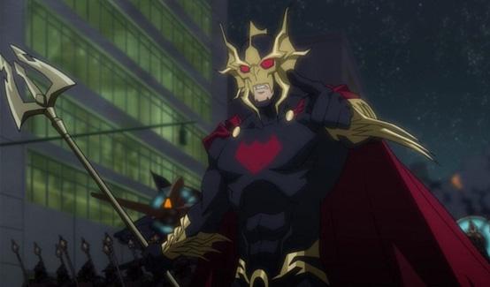 Повелитель Океана в Лига Справедливости: Трон Атлантиды