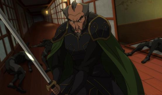 Ра'с аль Гул появляется в Сын Бэтмена