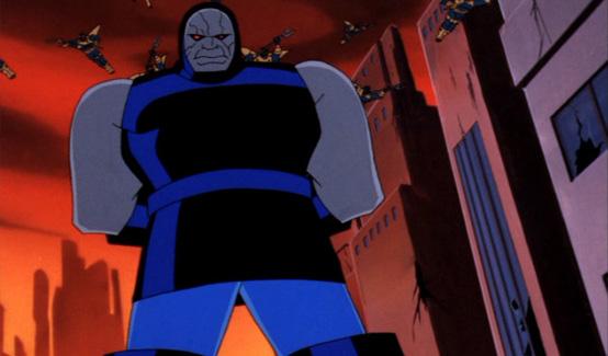 Дарксайд в мультсериале Супермен