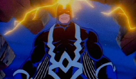 Чёрный Гром в мультсериале Фантастическая Четвёрка (1994 год