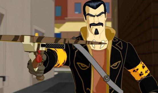 Крэйвен-Охотник в мультсериале Новый Человек-Паук