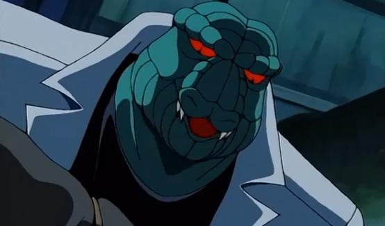 Ящер в мультсериале Человек-паук (1994)