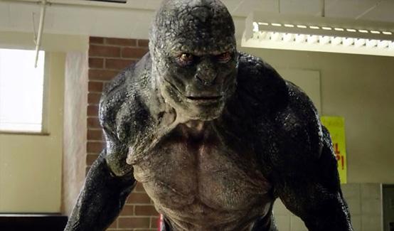 Ящер появляется в фильме Новый Человек-паук (2012)