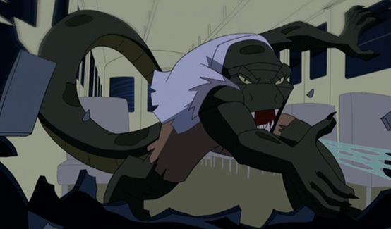 Мультик человек паук ящерица