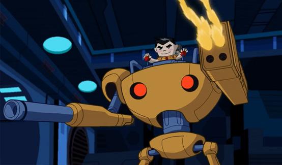 Игрушечник в мультсериале Justice League Action