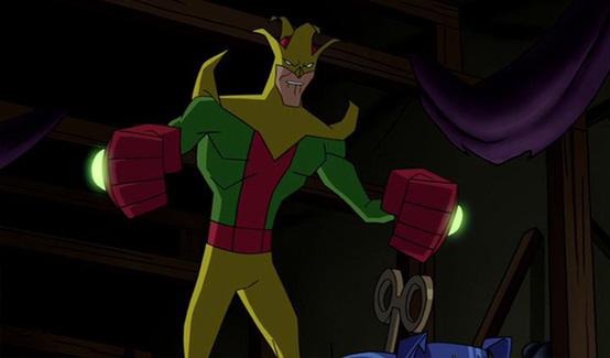 Игрушечник в мультсериале Бэтмен (2004)