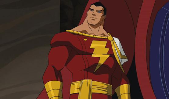 Капитан Марвел в мультсериале Юная Лига Справедливости