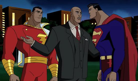 Капитан Марвел в мультсериале Лига справедливости
