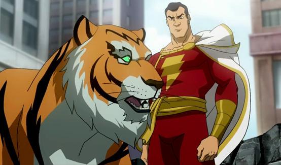 Капитан Марвел появляется в Витрина DC: Супермен/Шазам! – Возвращение черного Адама
