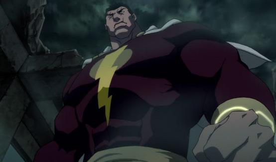 Капитан Гром появляется в Лига Справедливости: Парадокс источника конфликта