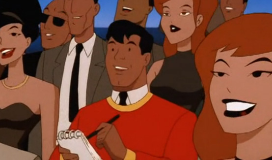 Билли Бэтсон в мультсериале Супермен
