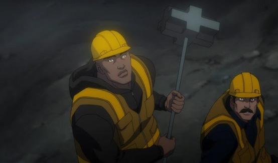 Джон Айронс появляется в Лига Справедливости: Трон Атлантиды