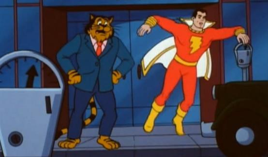 Капитан Марвел в мультсериале Шазам!