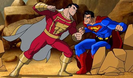 Капитан Марвел в Супермен/Бэтмен: Враги общества