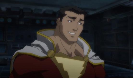 Шазам в Лига Справедливости: Трон Атлантиды