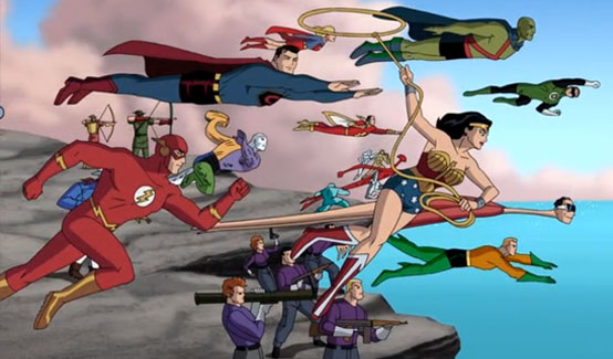 Пластикмэн появляется в Лига Справедливости: Новый барьер