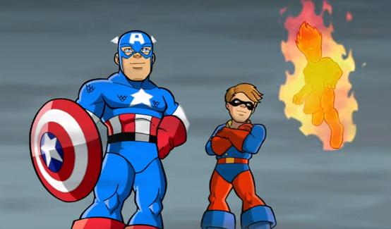 Баки в мультсериале Отряд супергероев