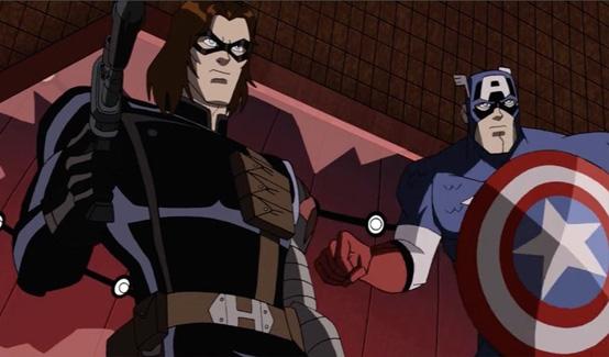 Баки/Зимний Солдат в мультсериале Мстители: Могучие Герои Земли