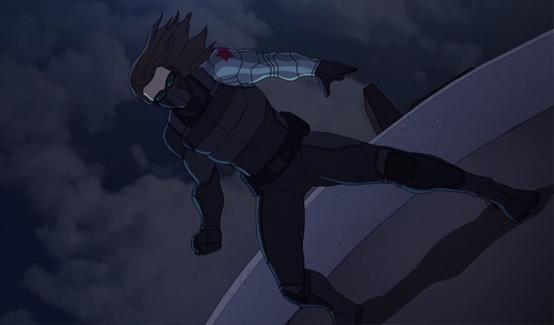 Баки/Зимний Солдат в мультсериале Мстители, общий сбор!