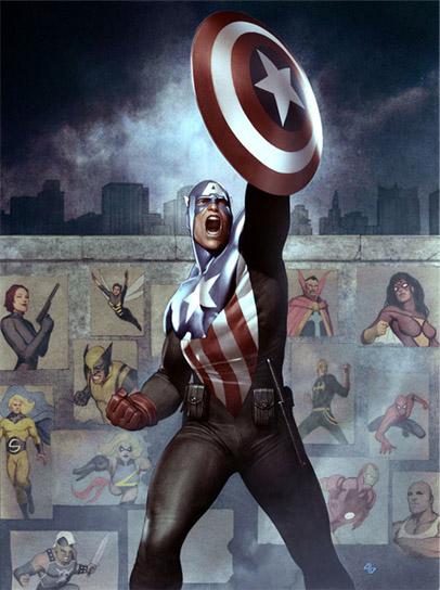 Новый Капитан Америка