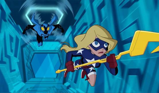 Старгёрл в мультсериале Justice League Action
