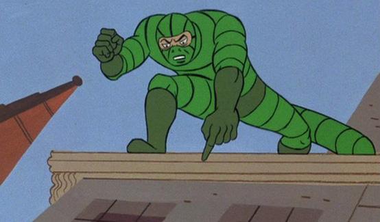 Скорпион в мультсериале Человек-паук (1967 год)