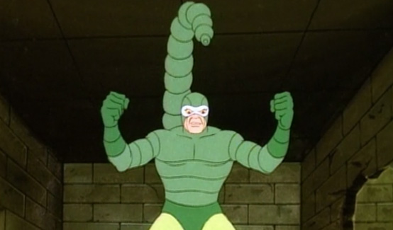 Скорпион в мультсериале Человек-паук и его удивительные друзья
