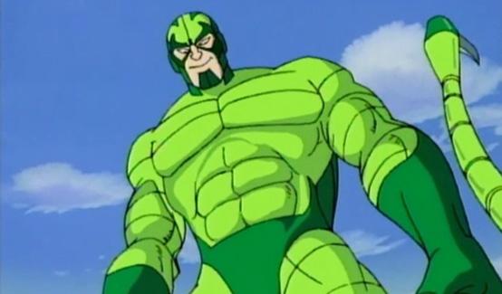 Скорпион в мультсериале Человек Паук