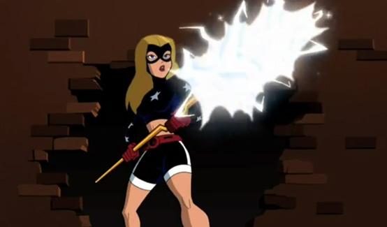 Старгёрл в мультсериале Бэтмен: Отважный и смелый