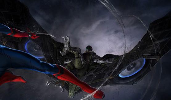 Стервятник в фильме Человек-паук: Возвращение домой