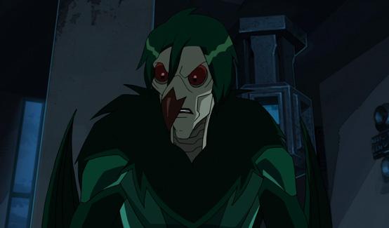 Стервятник в мультсериале Совершенный Человек-паук