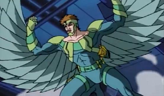 Стервятник в мультсериале Человек Паук